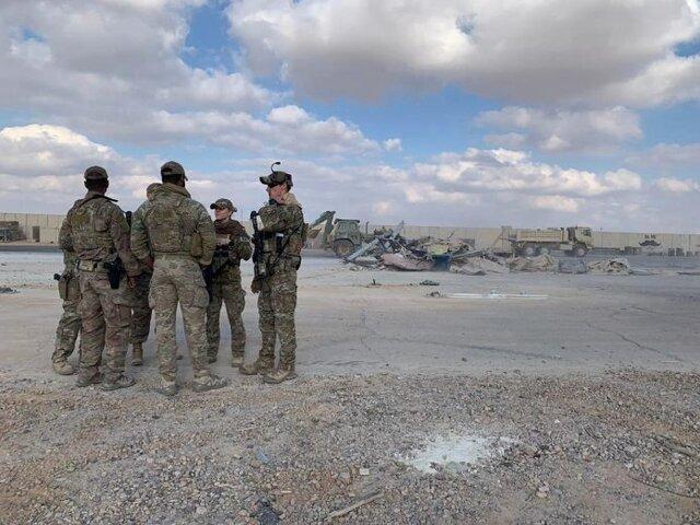 نیروهای آمریکایی تدابیر امنیتی در پایگاه عین الاسد را افزایش دادند