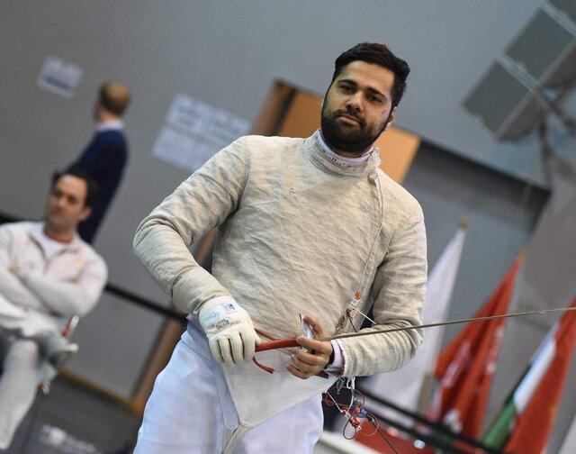 روی حرفم هستم، شمشیربازی در المپیک میدرخشد