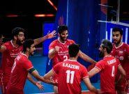 ترکیب بلند قامتان ایران مقابل فرانسه