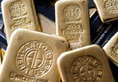 سقوط قیمت طلا در بازار جهانی