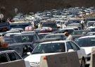 ترافیک سنگین در مسیر بازگشت سفرهای مردم