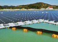 راهاندازی فاز اول نیروگاه خورشیدی شناور در جنوب تهران/راه حلی مناسب برای گذر از پیک مصرف برق