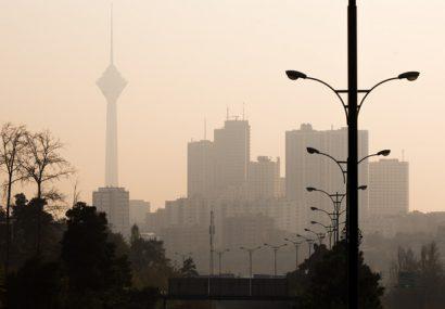 رکوردشکنی آلودگی هوای تهران در نخستین هفته پاییز امسال