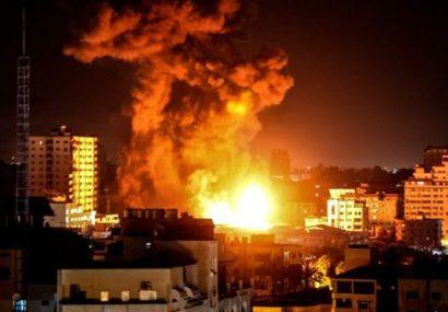 حملات رژیم صهیونیستی به غزه برای دومین روز متوالی