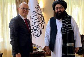 دیدار سرپرست وزارت امور خارجه طالبان با سفیر ترکیه در کابل