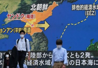 کرهشمالی باز هم موشک شلیک کرد/ آمریکا: تهدید فوری وجود ندارد