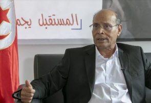 """فراخوان المرزوقی برای تظاهرات گسترده علیه رئیس جمهور تونس؛ """"نگذارید سناریوی مصر تکرار شود"""""""