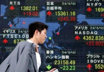 ریزش بورس های جهان پس از گزارش صندوق بین المللی پول