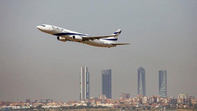 فرود اولین هواپیمای اسرائیلی در عربستان