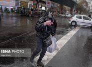 بارندگی در ۱۴ استان کشور/ ورود سامانه بارشی به کشور از جمعه