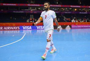گل حسنزاده به آرژانتین در بین بهترین گلهای جام جهانی فوتسال