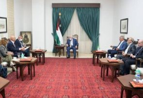 دیدار عباس با وزرای اسرائیلی در رامالله/نتانیاهو محکوم کرد