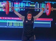 چرا موفقترین دختر وزنهبردار ایران روی سکو اشک میریخت