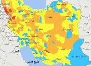 افزایش شمار شهرهای قرمز و نارنجی در کشور / ۲۲ شهر در وضعیت خطر کرونایی